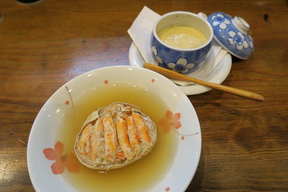 「三幸犀川店」 〆はおでんラーメンで決まり!半分が香箱蟹な茶碗蒸しも必食ッ!