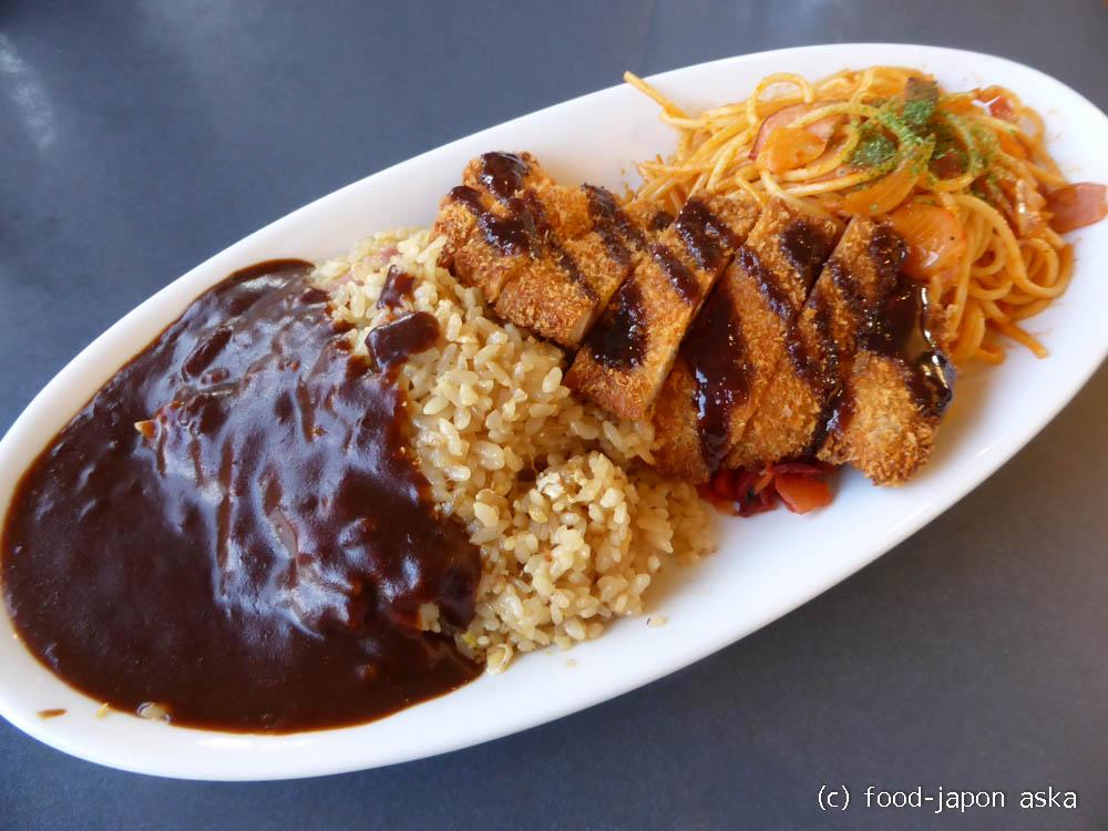 「キッチンユキ 本店」金沢カレー源流のお店。無性に食べたくなるブラックカレー。トルコライス?ベーキライス?ナニコレメニューがいっぱい