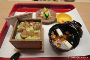 「つづら」小松の竹林に肩書のない名店が。こんなところに!自己流の日本料理。秋の栗おこわは美味でした。