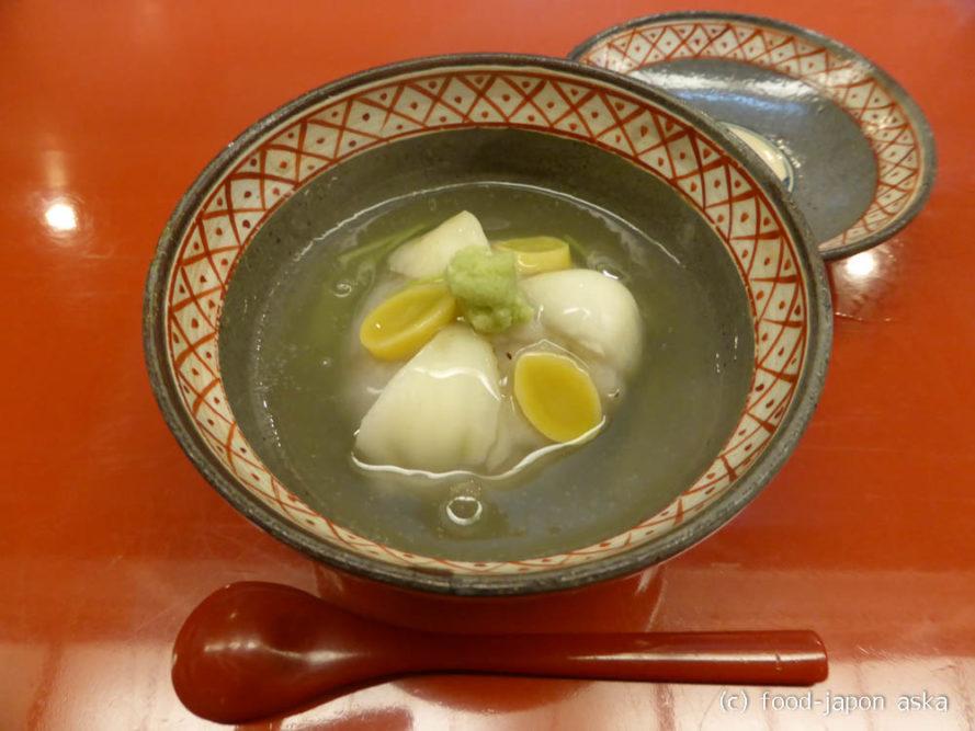 「味処大工町よし村」加賀料理にも信頼が置ける心強いお店!治部煮、はす蒸し、スッポンスープも美味