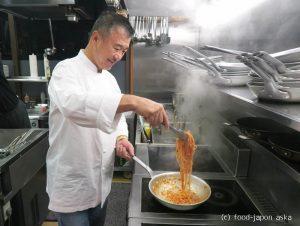 「LA BETTOLA da Ochiai Toyama」富山食材のベットラ!見た目シンプルで味わい深い!落合シェフらしさが詰まっている。雰囲気はリストランテ