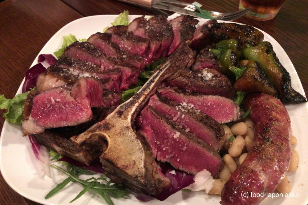 「チカーラ」シンプルだが記憶に残る力強く繊細なトスカーナの郷土料理。1キロのTボーンステーキは食べておきたい!