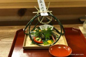 「御料理ふじ居」富山で外せない日本料理店のひとつ。シンプルで食材のポテンシャルを立たせた端正な料理。