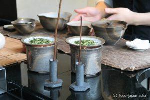 「ル ミュゼ ドゥ アッシュ KANAZAWA」パティシエ辻口博啓氏のお店。予約制お茶室「コンセプトG」でお茶とデセールコース。金沢店限定の季節パフェもいいね!