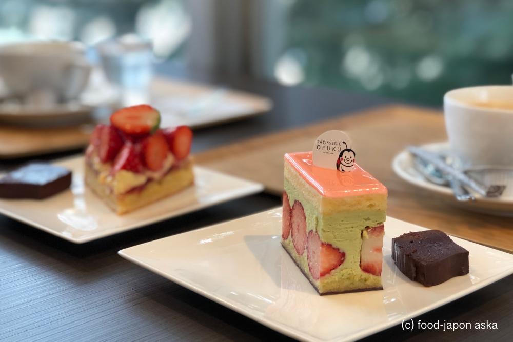 「PATISSERIE OFUKU」金沢トップクラスのパティスリーといえばここ。老舗の和菓子店「お婦久軒」が4代目でパティスリーに!21世紀美術館の裏手