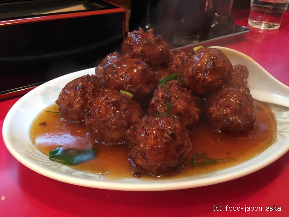 「蘭々(らんらん)」世界一とも言われる肉団子!小松の街角、大衆的な中華料理店に絶品が隠れていた!オーダーがあってから作り始めます。