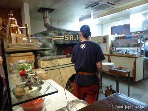 「サリーナ」石川県で唯一の真のナポリピッツァ協会認定店。奥能登の角花さんの塩を使用。ナポリの季節感が感じられる食材使いも必見