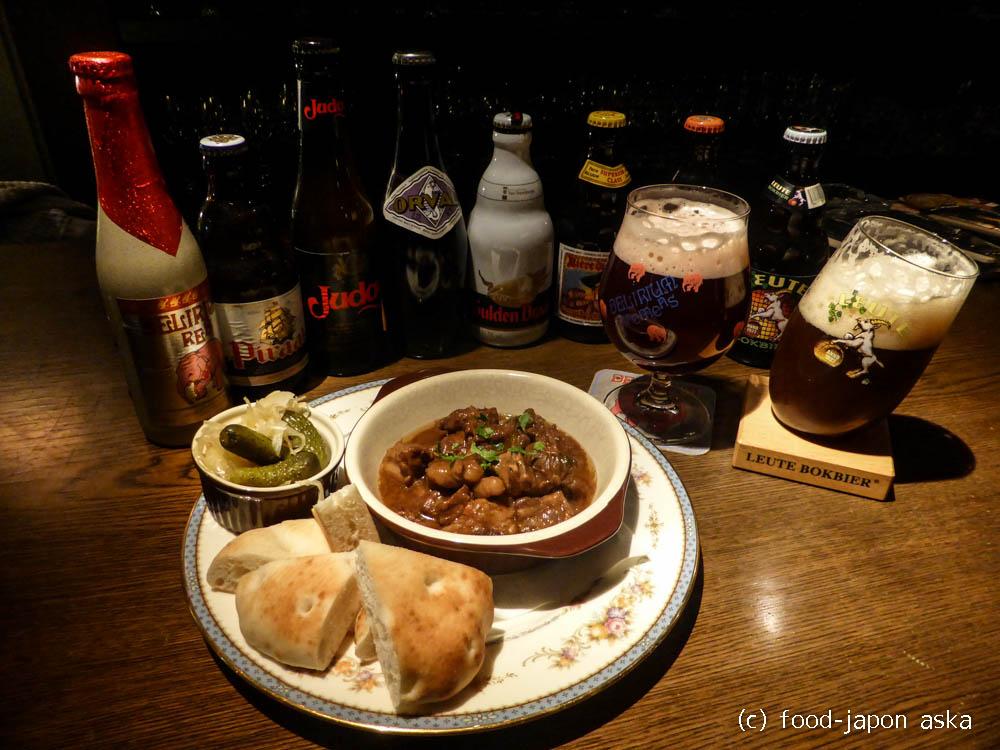 「ゲデレー木倉町」ベルギービールなんと100種!グラスも各ビールに合わせたオリジナルグラスを輸入。料理もうまいのがポイント高!