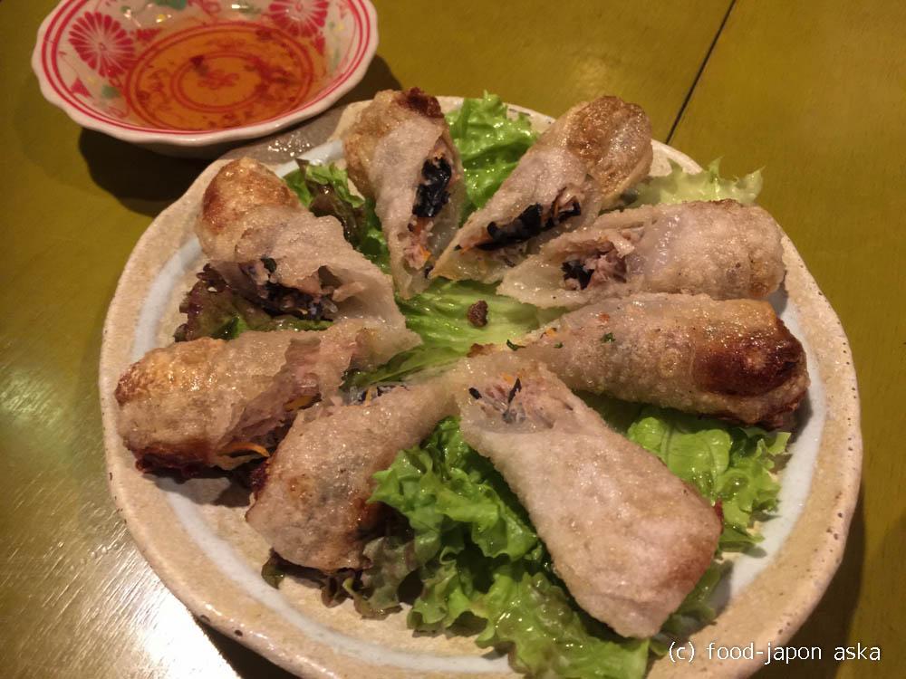 「ベトナム屋台めし ムサク」本格的でおいしいベトナム料理は金沢近郊でここだけかも!オススメは揚げ春巻きチャゾー、バインセオ。ランチは平日限定でフォー専門店に
