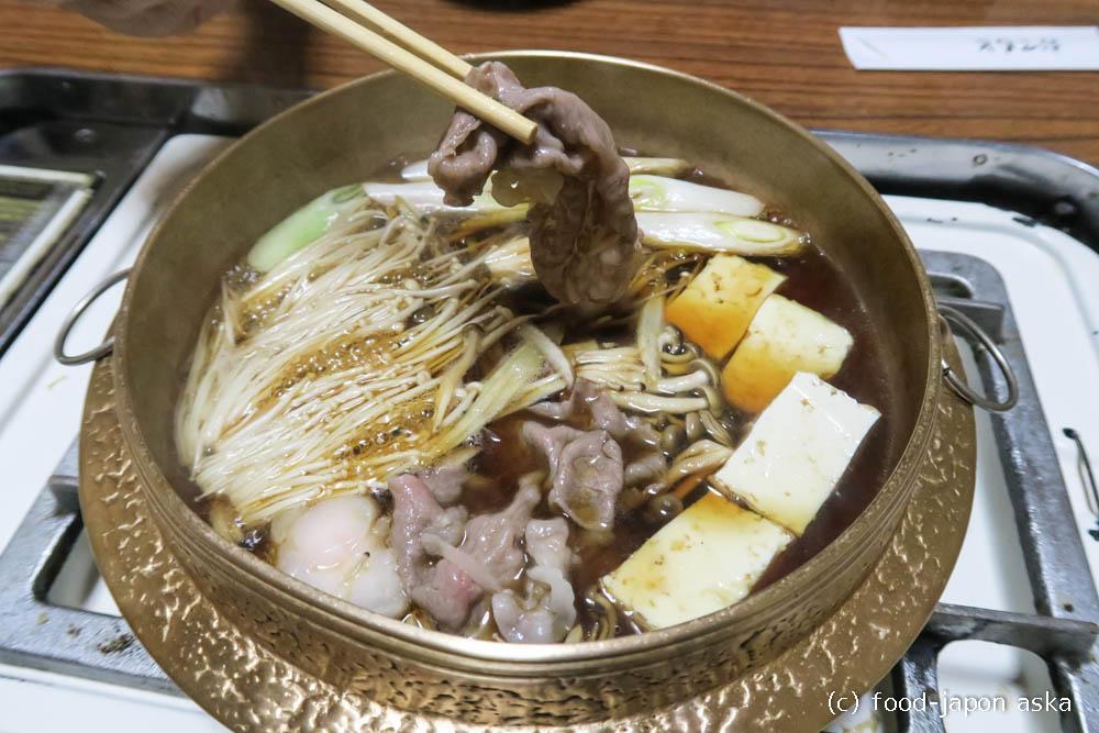 「犀星」珠洲のお肉屋さん直営、しゃぶしゃぶのようなすき焼き!?がうまい!いいお肉なのに手頃ッ