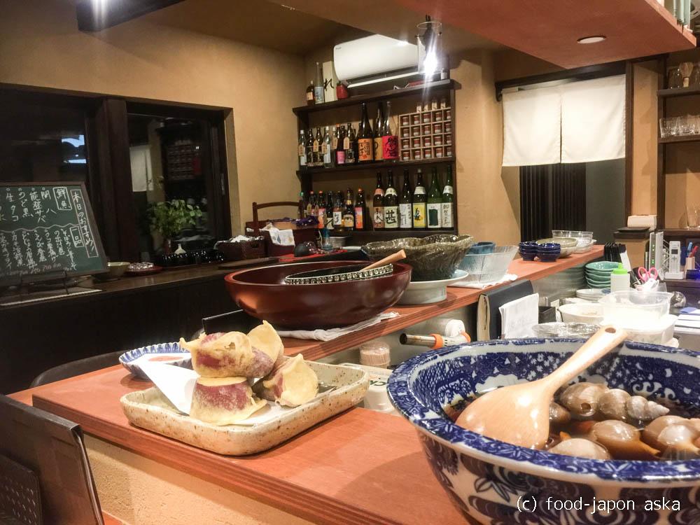 「大衆割烹 魚園(ぎょえん)」何度も足を運びたいツボる一店!鮮魚とおばんざいで1杯~。名物はテールシチューと釜めし
