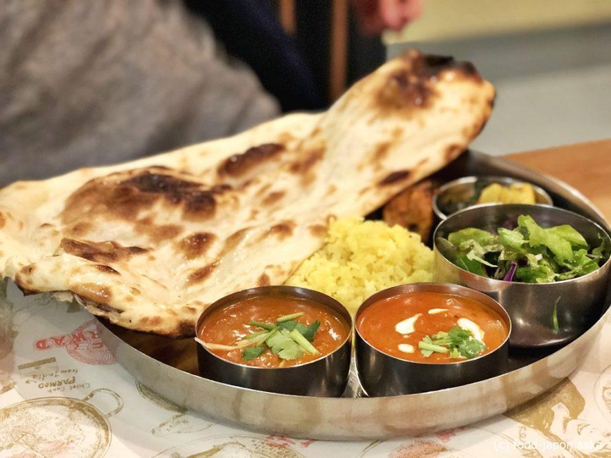 「AASHIRWAD(アシルワード)」移転しさらに魅力増!北インドカレー、南インドプレートもあり。ビリヤニうまいな〜夜のネパール料理も要チェック!ベジタリアン対応可