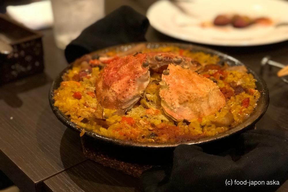 「スペイン料理アロス」説明するより体感してもらいたい。一度行ったらクセになる。秋からのジビエ、冬季の香箱パエリアは絶対食べたい。