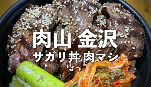 【肉山金沢】いざ肉山登山!肉三昧でお腹いっぱい。※現在販売中のテイクアウト「サガリ丼」もオススメ