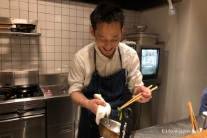 「KAWAZ」フレンチの中に和のテイストが大いに発見できる。シェフの優しい性格がそのままお皿に表現されたような料理