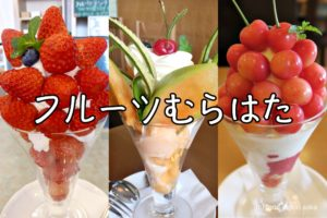 「フルーツむらはた」なぜか金沢に行列パフェが!フルーツぎっしりで手頃価格は果実専門店だからこそ。期間限定パフェずらっと紹介!