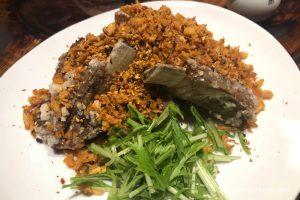 「翠香(スイカ)」広坂に登場した中国料理店。フライドオニオンを衣にした唐揚げがうまい。激辛ファンにオススメ鮮烈な痺れの四川麻婆豆腐。ランチは800円で!