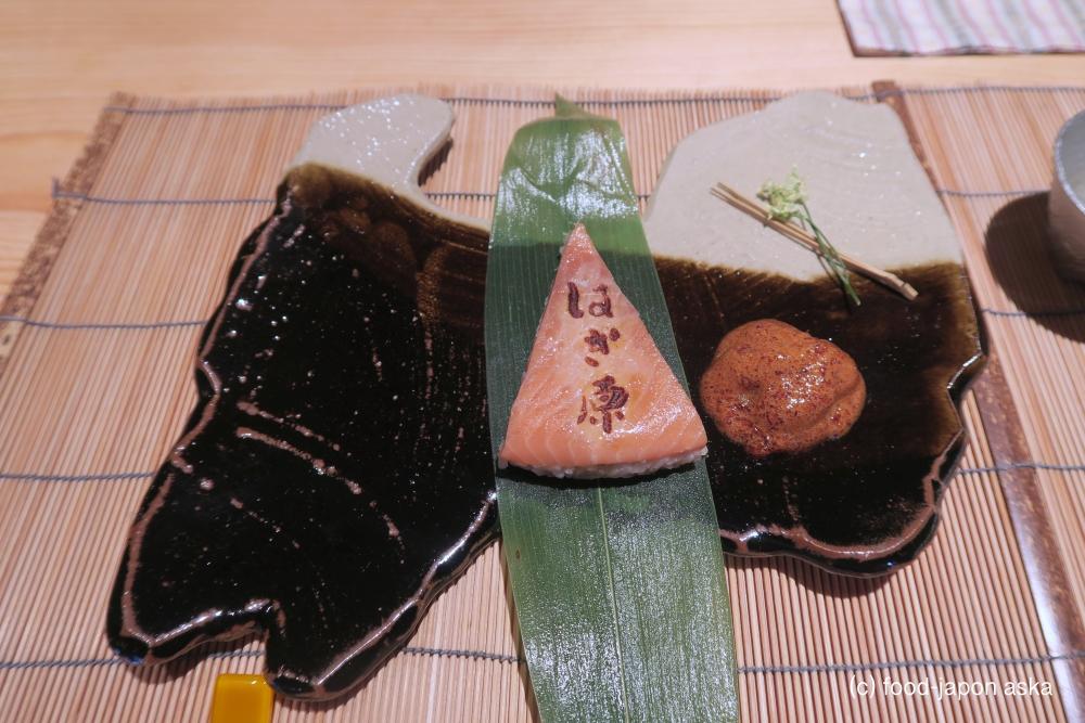 """「来人喜人 はぎ原」スペシャリテの究極ます寿司は味わうべき!2019年7月に移転し店内に""""離れ""""のお茶室が。富山の人気日本料理店のすごさ。この価格で満足度高い"""