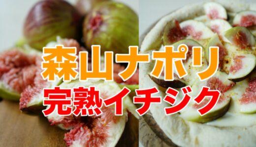 【森山ナポリ】「旬イチジクとレモンクリームのピザ」今年も再販!石川県川北町の無農薬イチジク完熟もぎたてでトッピング